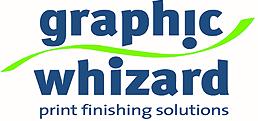 Graphic Whizard – Numbering, Creasing, Perforating, Scoring, Slitting, Cutting, Folding, UV Coaters & Bindery Machines – Print Finishing Equipment Logo