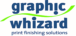 Graphic Whizard – Numbering, Creasing, Perforating, Scoring, Slitting, Cutting, Folding, UV Coaters & Bindery Machines – Print Finishing Equipment Logo